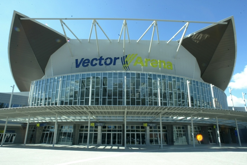 CW 40 low rise curtainwall - Vector Arena, Auckland